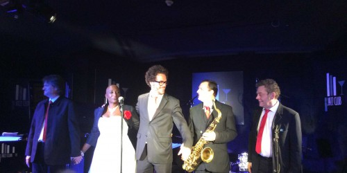 dominique magloire et Michel Pastre Big Band